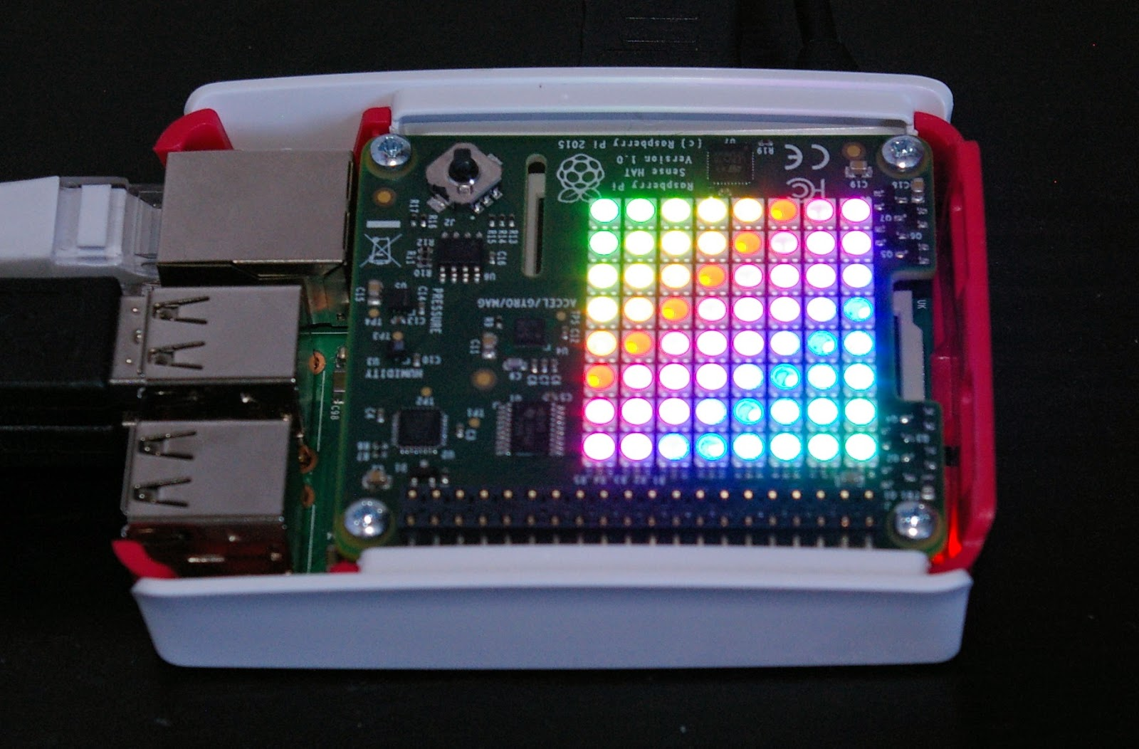 Buy The Sense Hat As Seen In Space Raspberry Pi