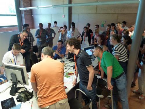 Raspberry Pi Scratch workshop.
