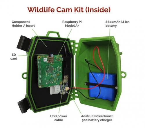 Naturebytes wildlife cam kit - Raspberry Pi