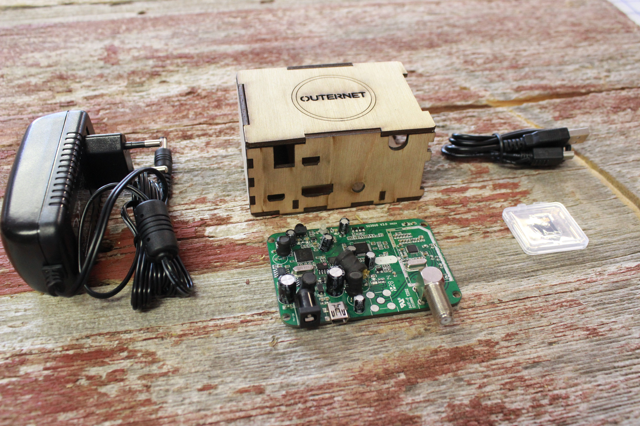 Outernet - Raspberry Pi