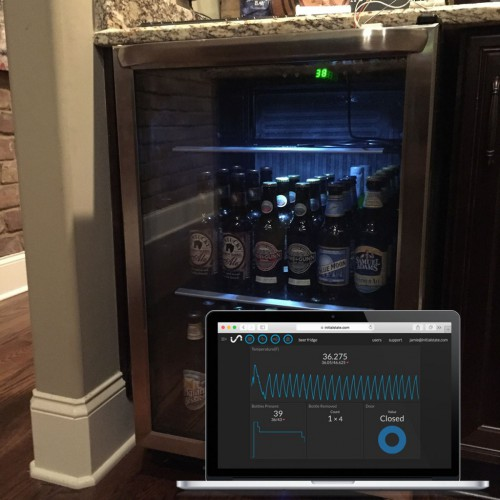 Beer and Wine Fridge of Awesomeness - Raspberry Pi