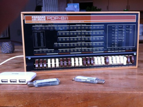 PiDP-8/I - remaking the PDP-8/I - Raspberry Pi