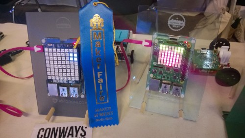 Maker of Merit ribbon at Maker Faire Berlin 2015
