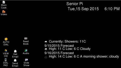 Senior Pi - Raspberry Pi