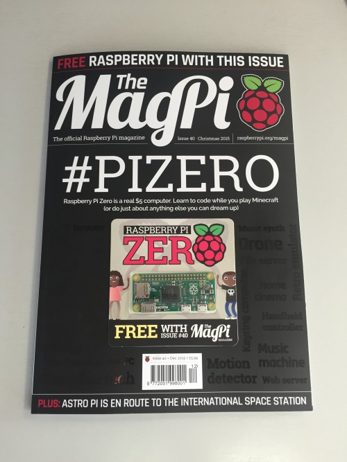 MagPi issue 40 in all its glory