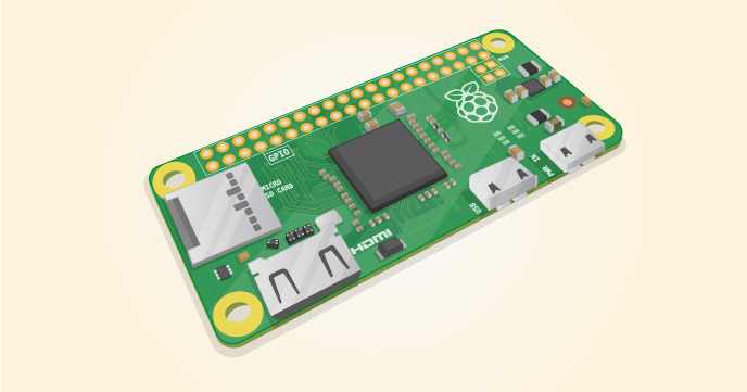 Pi Zero is half the size of a Model A+, with twice the utility. A tiny ...: http://raspberrypi.org/products/pi-zero