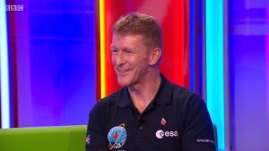 British ESA astronaut Tim Peake