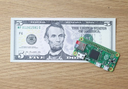 Raspberry Pi Zero: the $5 computer - Raspberry Pi