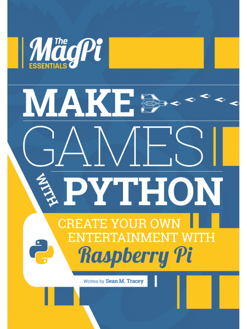 Make Games with Python - the latest e-book in The MagPi