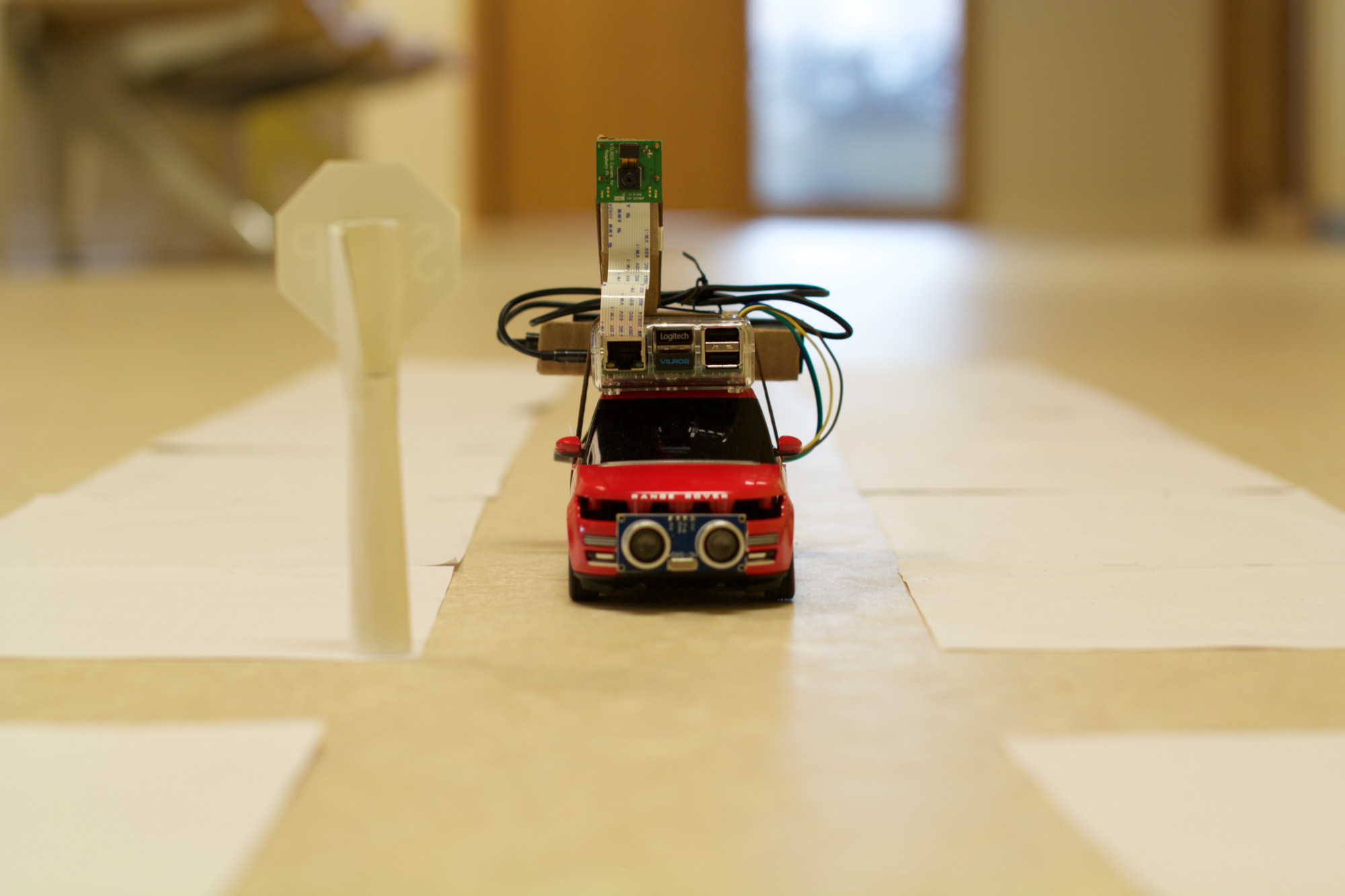 Self Driving Car Raspberry Pi