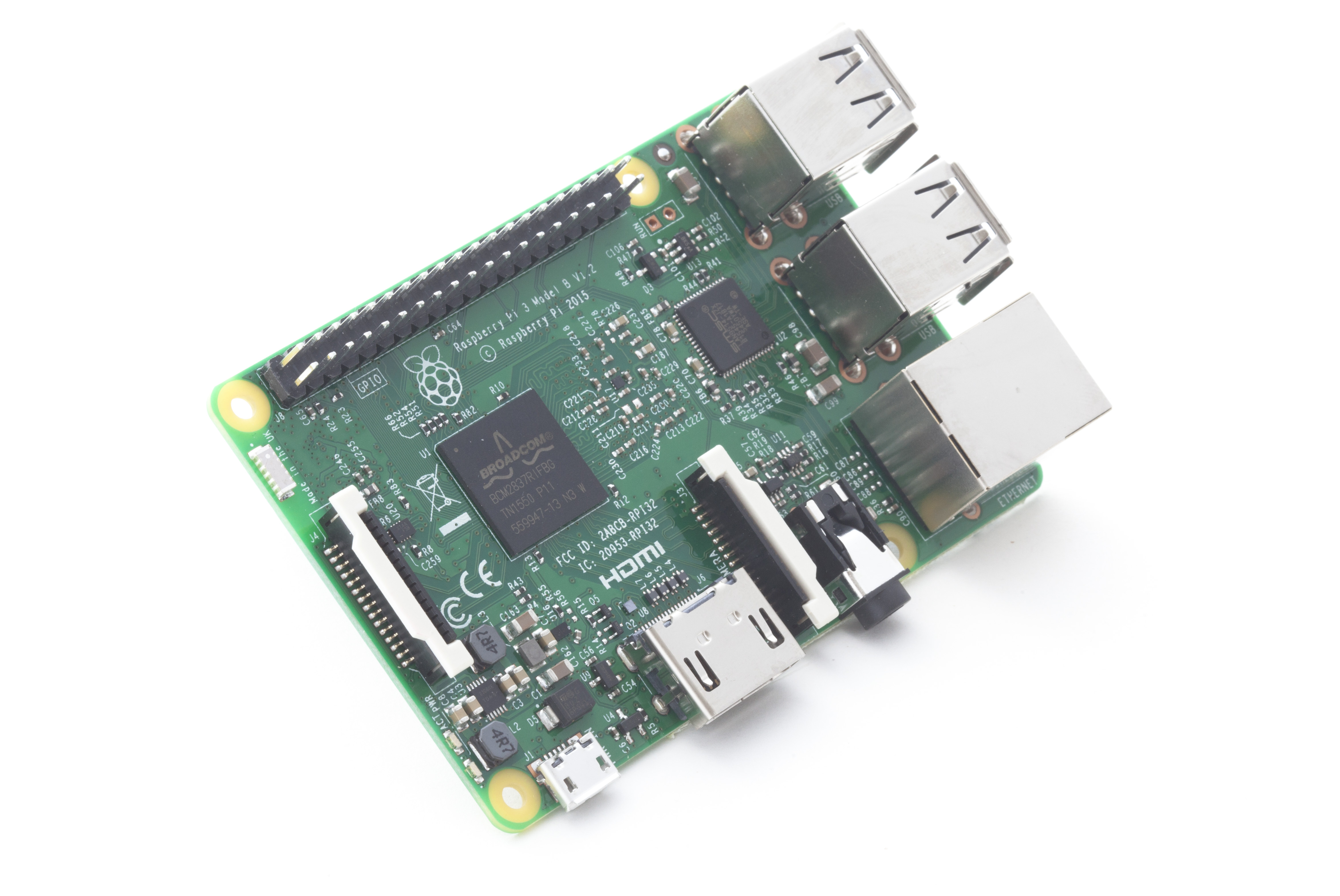 Raspberry Pi 3 on sale now at $35