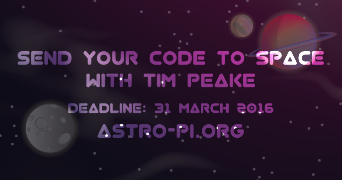Send your code to space
