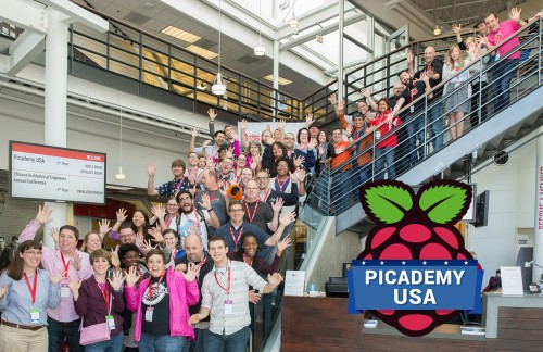 The first Picademy USA Cohort! © Douglas Fairbairn Photography / Courtesy of the Computer History Museum