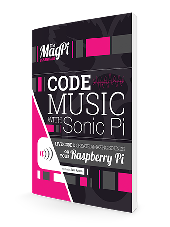 Over 100 pages of Sonic Pi excellence