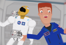 Astro Pis with Tim Peake and Robonaut