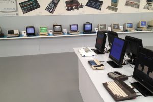 A tiny part of the Centre for Computing History's collection on display
