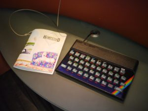 Spectrum keyboard