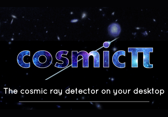 A Raspberry Pi cosmic ray detector from folk at CERN