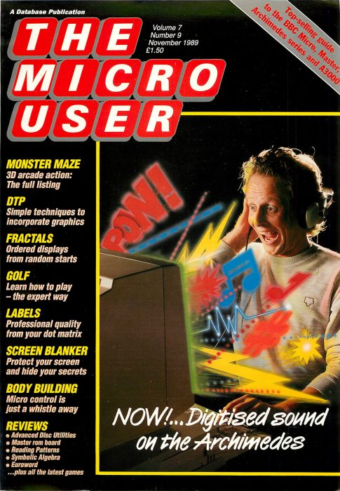 Micro User magazine was an important part of the early computing education of a lot of people who work at Raspberry Pi. Mike Cook, who now writes for our official magazine, The MagPi, was author of the monthly Body Building feature.