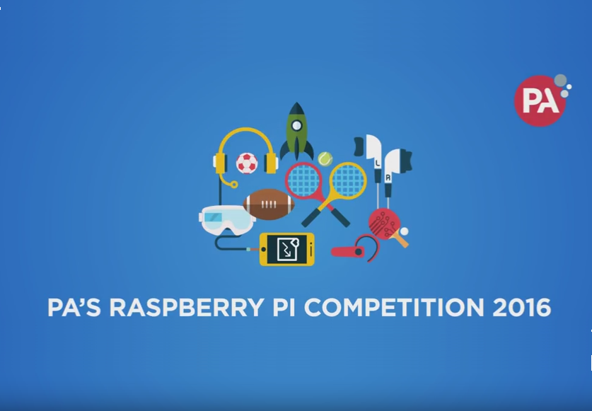 PA Consulting Raspberry Pi competition 2016