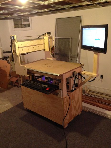 Home Made Cnc Milling Machine Raspberry Pi