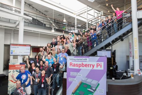 Our superhero Raspberry Pi Certified Educators! © Douglas Fairbairn Photography / Courtesy of the Computer History Museum