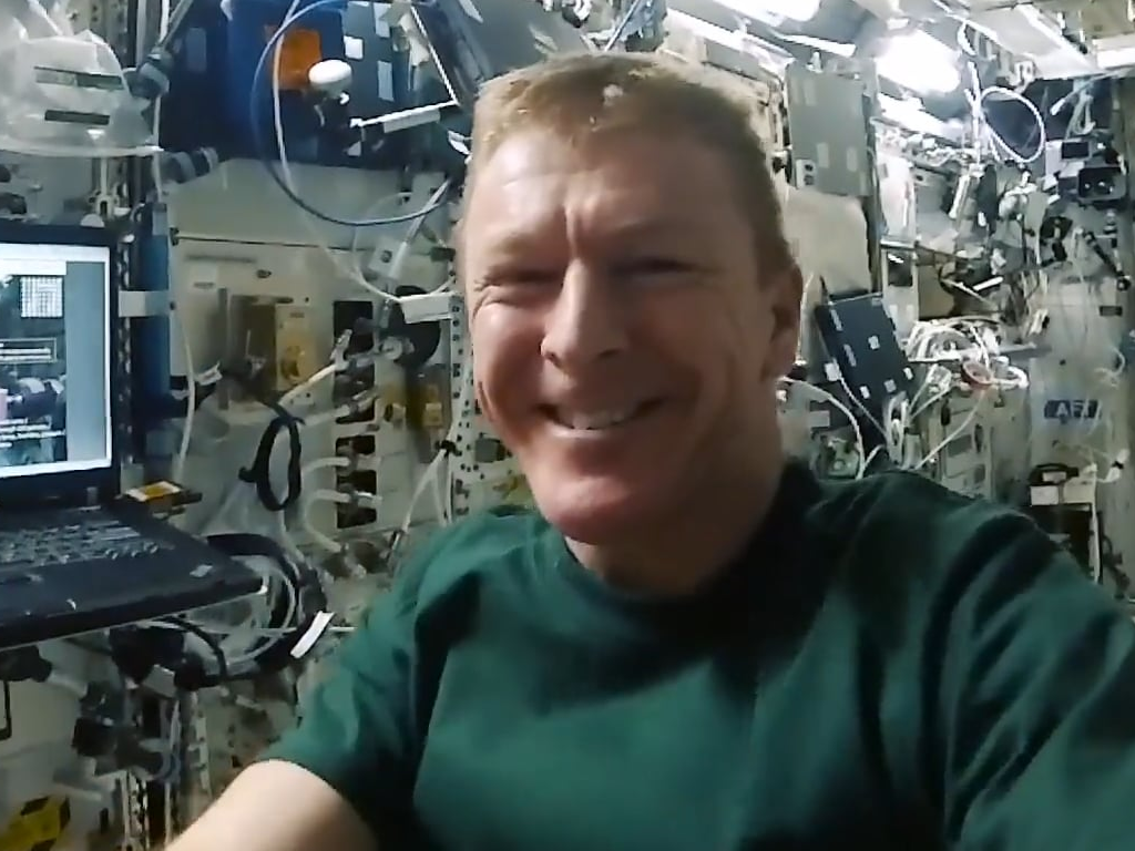 Astro Pi Coding Challenges: a message from Tim Peake