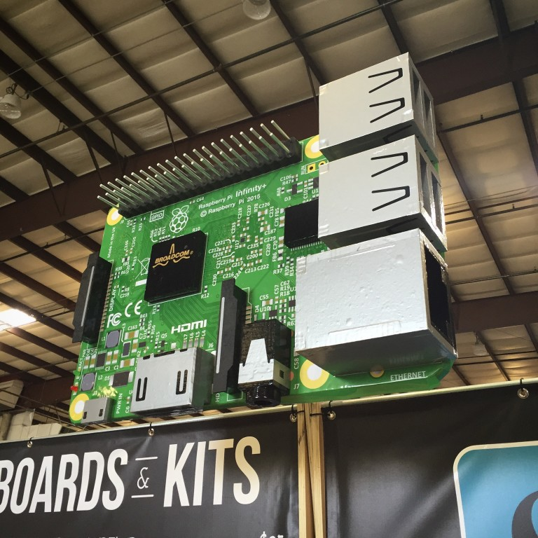 Inspired Raspberry Pi Projects at Maker Faire