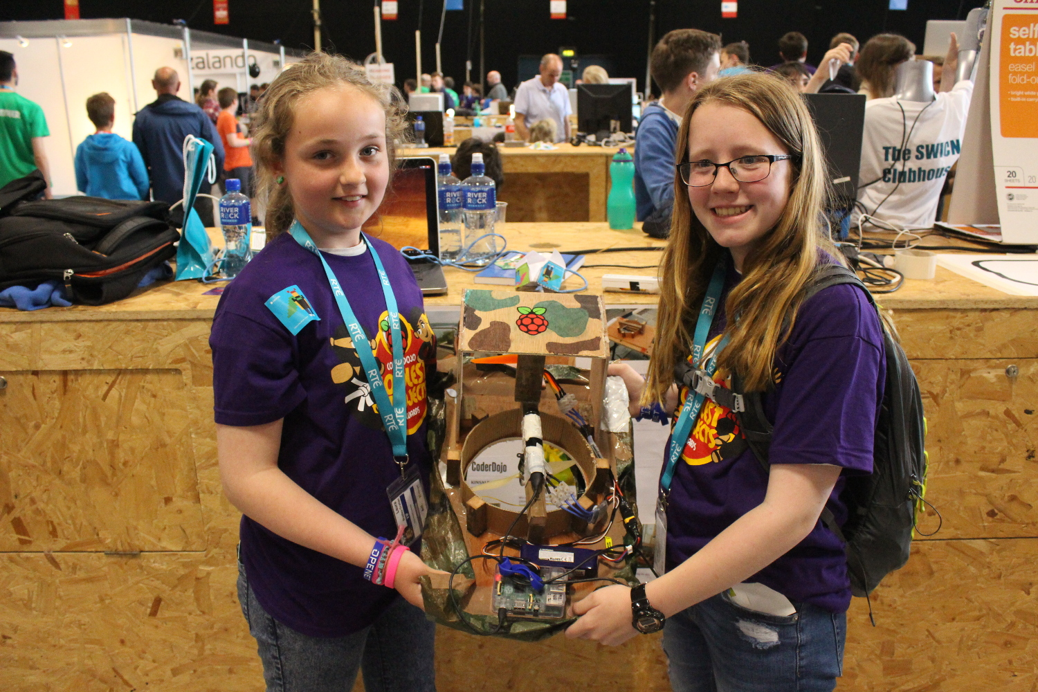 Coderdojo coolest projects prizes for carnival games