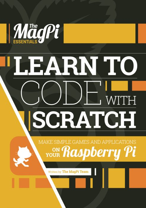 How To Make A Book Cover From Scratch : Learn to code with scratch the magpi s latest e book