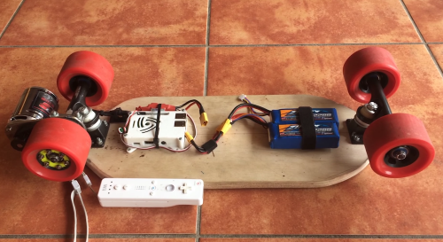 raspberry pi skateboard