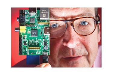 Pete Lomas: Founder, Trustee and hardware designer of the first-gen Raspberry Pi
