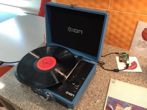 Hi Fi Raspberry Pi - digitising and streaming vinyl