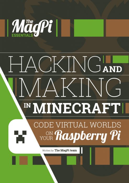 Mod Minecraft Pi with our latest Essentials books - Raspberry Pi