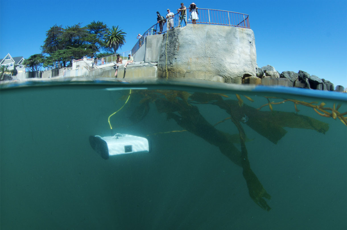 Openrov Underwater Exploration With Raspberry Pi
