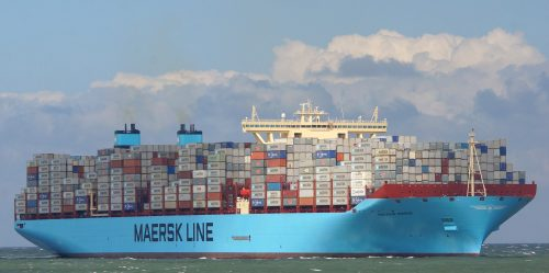 Mayview Maersk by Flickr user Kees Torn