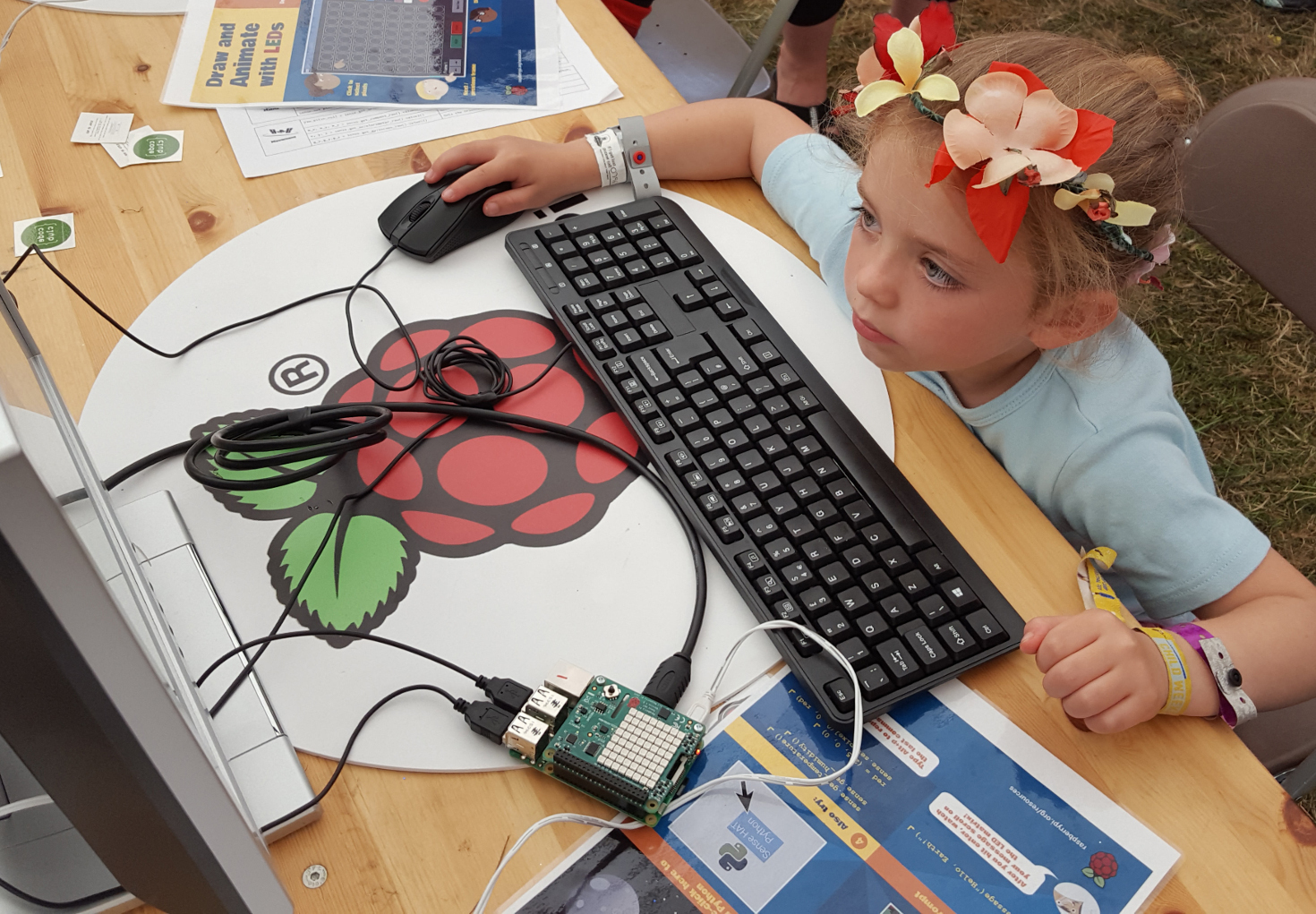 Raspberry Pi at Camp Bestival
