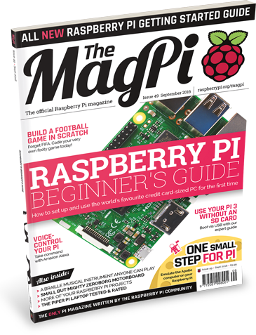Get started with Raspberry Pi with The MagPi 49!