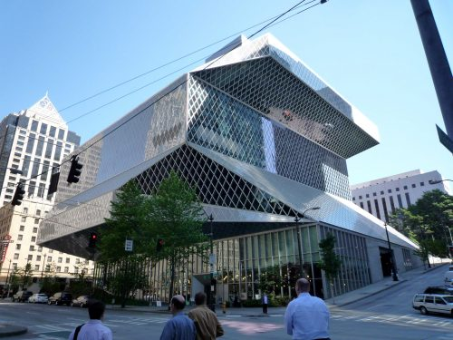 Seattle Central Library (photo by Bobak Ha'Eri)