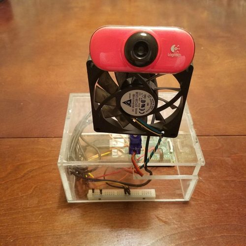 Face-tracking fan - Raspberry Pi