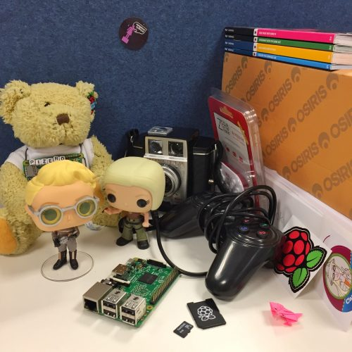 The mess of Alex's desk