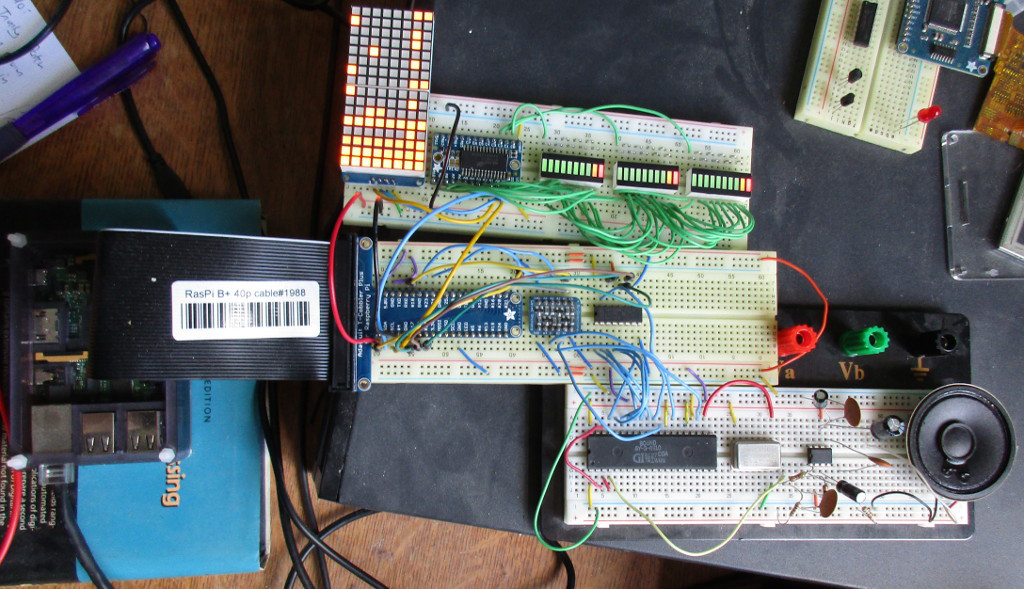 Raspberry Pi Chiptune Player - Raspberry Pi