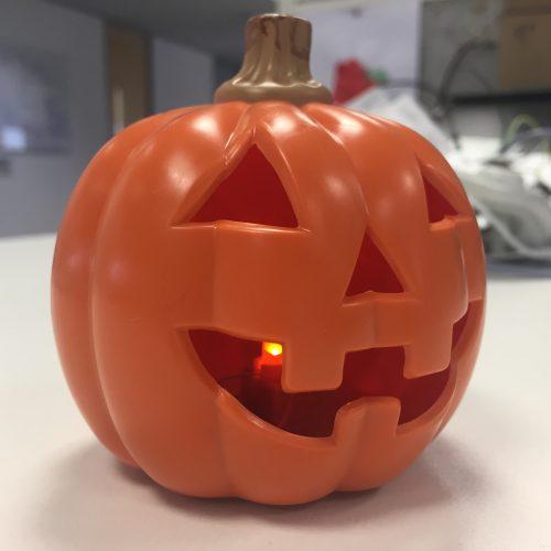 Halloween Pumpkin BEFORE