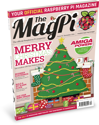 The MagPi issue 52 cover