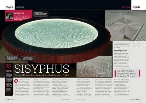 The MagPi 52 Sisyphus Project Focus