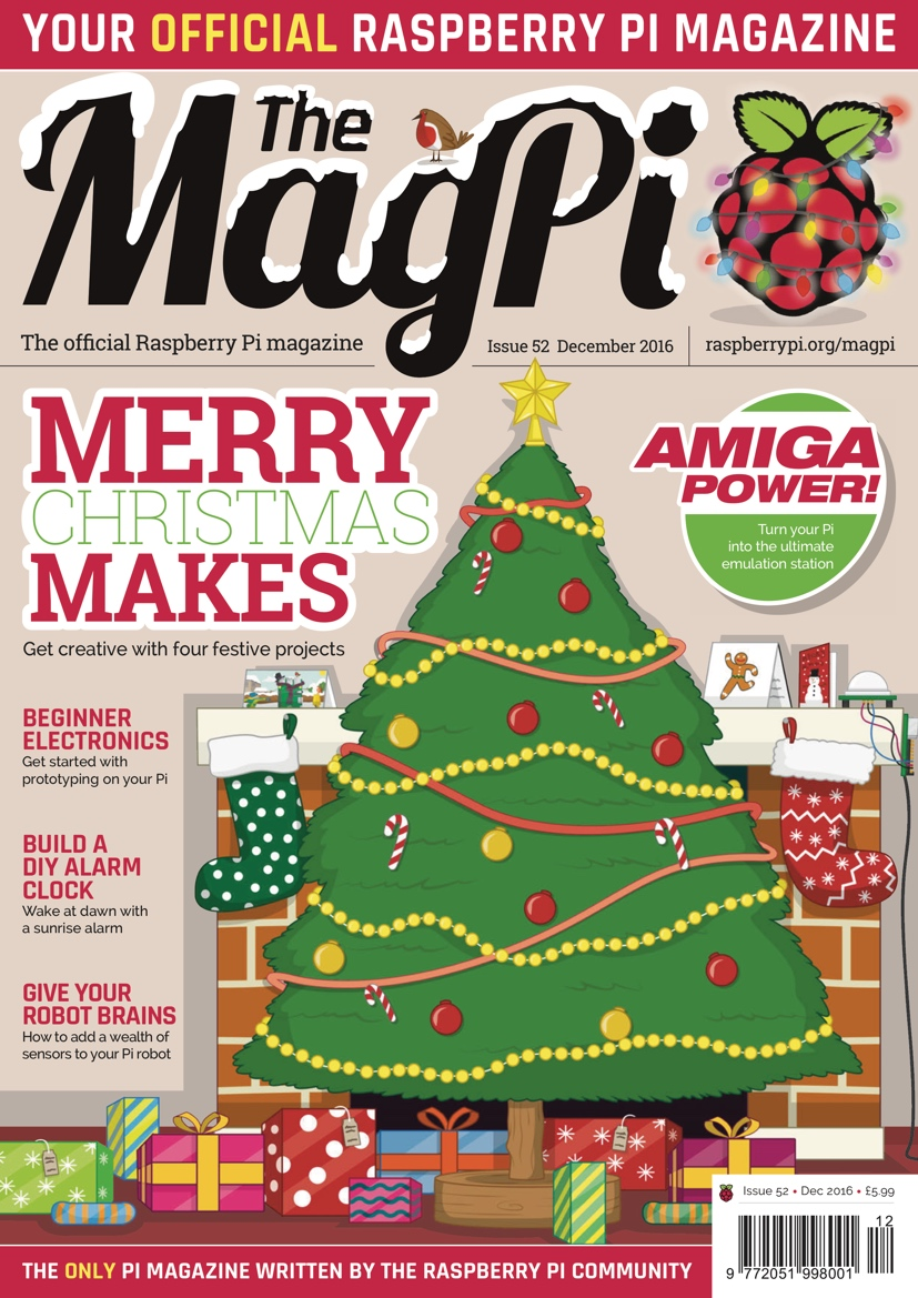 Christmas Special: The MagPi 52 is out now!