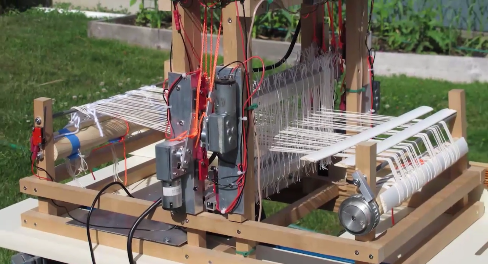 the raspberry pi powered loom raspberry pi