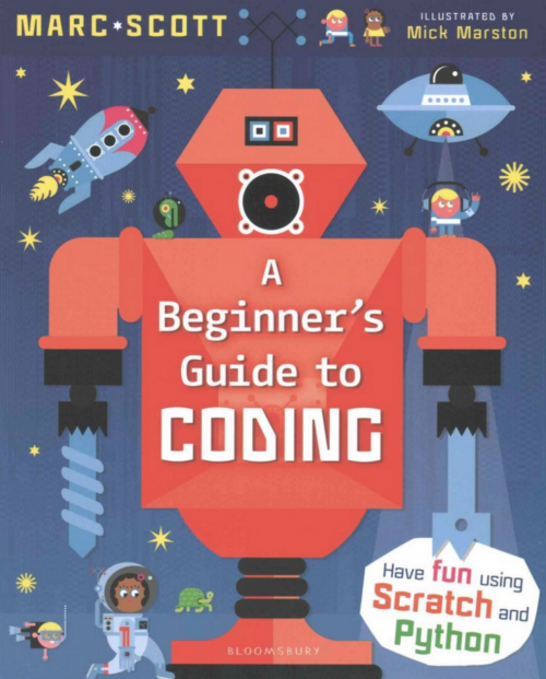 Marc Scott Beginner's Guide to Coding Book