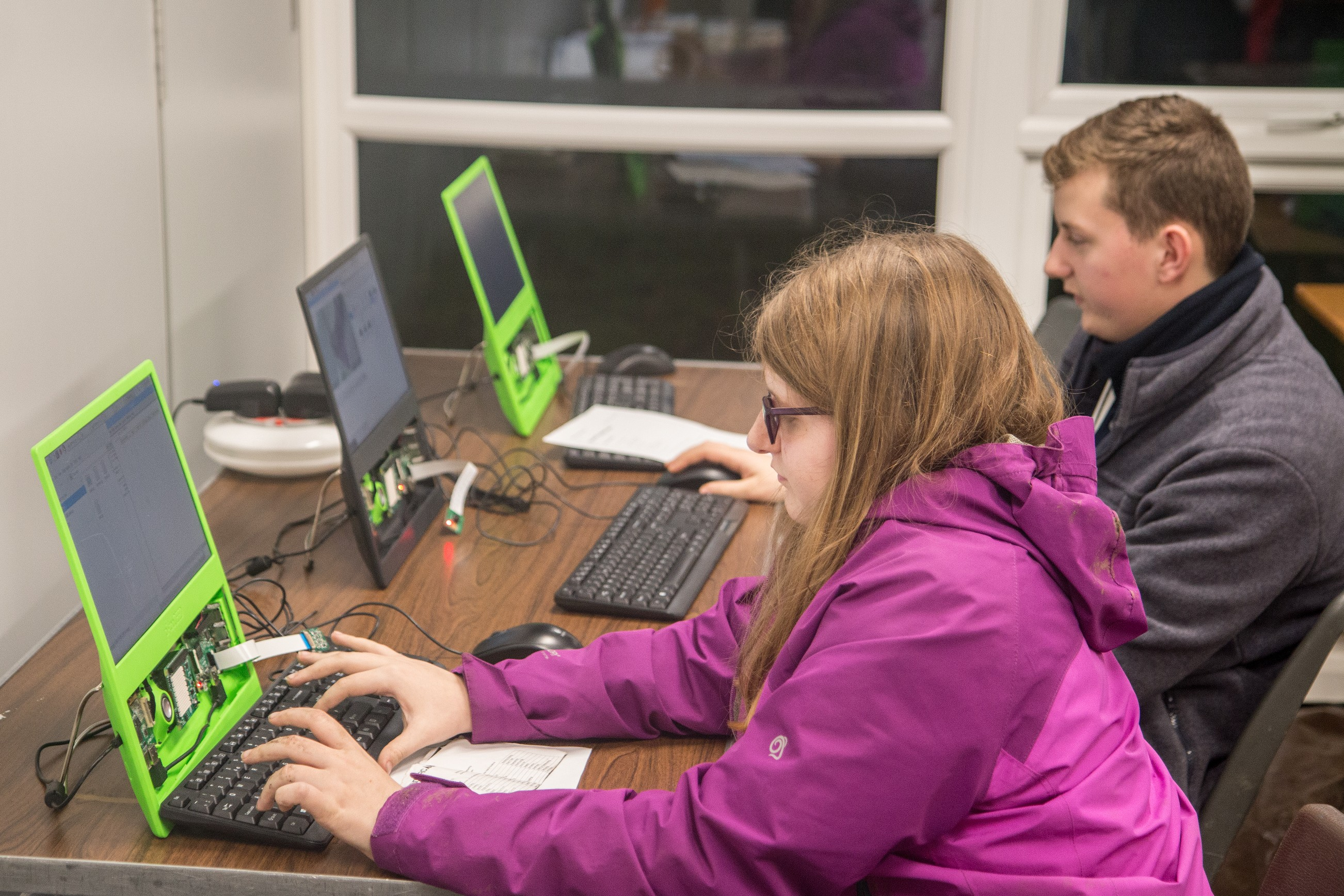 Raspberry Pi at Scouts Wintercamp