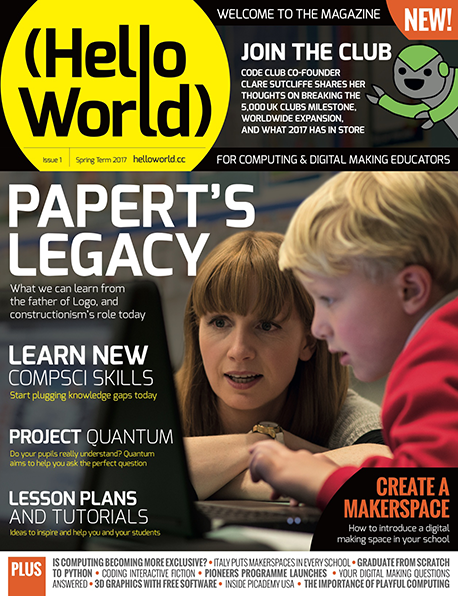 Magazine Hello World